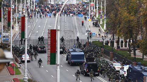 В Минске проходит многотысячная акция протеста