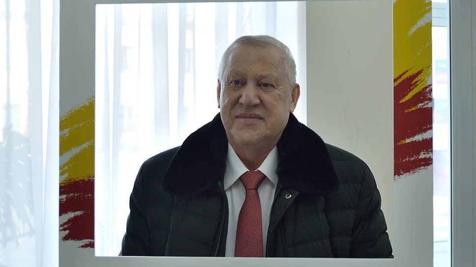 Бывший мэр Челябинска Евгений Тефтелев
