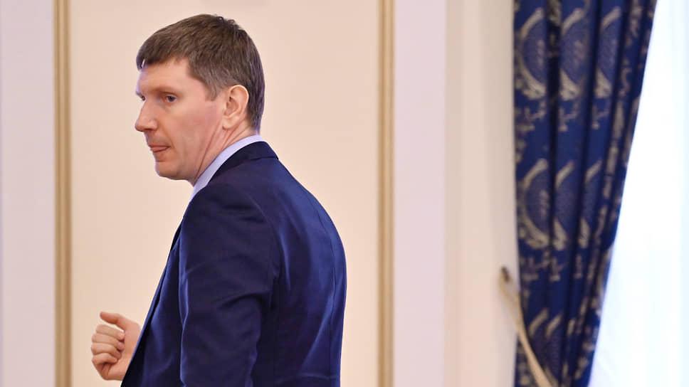 Глава Минэкономики России Максим Решетников
