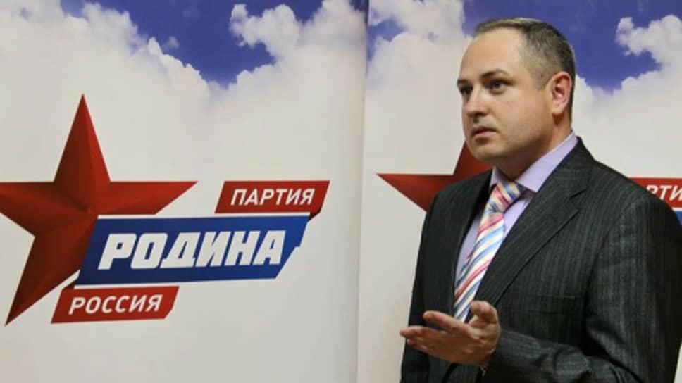Мэр Тамбова Максим Косенков