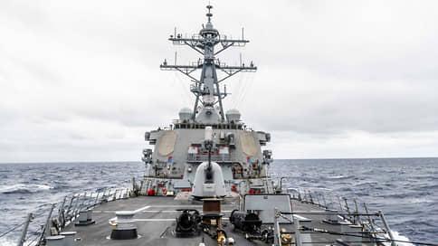 ВМС США: «Джон Маккейн» имел право находиться в заливе Петра Великого