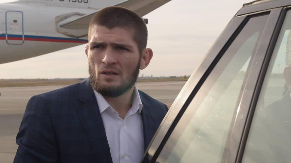 Боец Хабиб Нурмагомедов