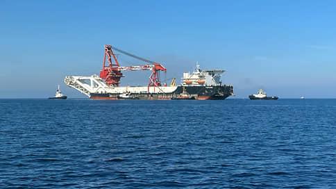 Фортуна начнет строительство Северного потока-2 в водах Дании 15 января