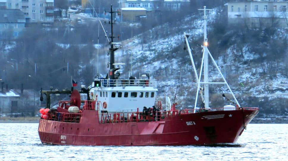 Рыболовецкое судно «Онега»