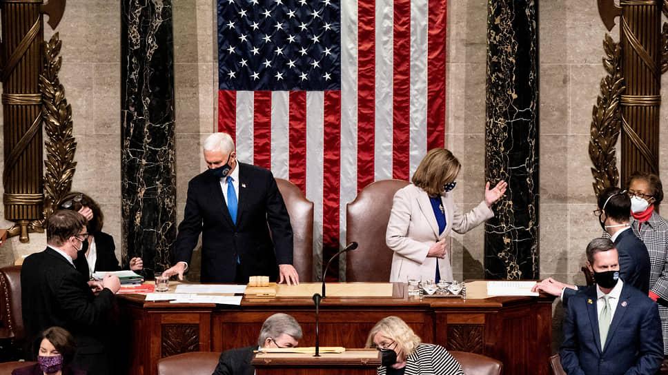 Конгресс США утвердил победу Байдена на выборах президента