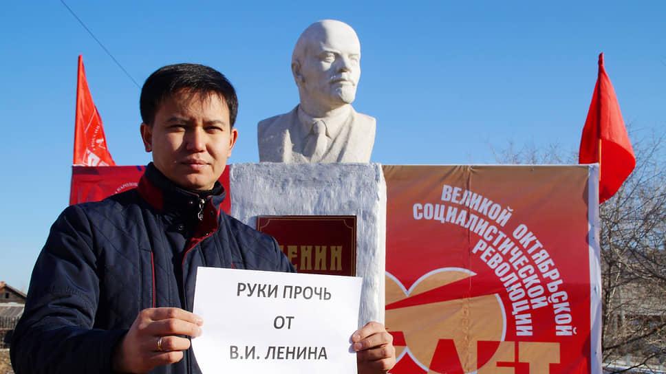 Депутат Народного хурала республики Бурятия Баир Цыренов