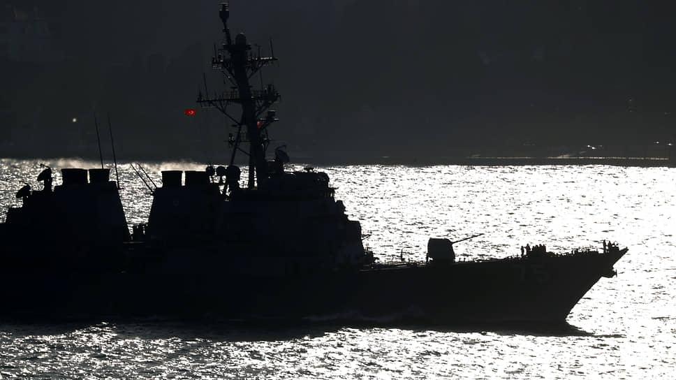 Эсминц ВМС США Donald Cook