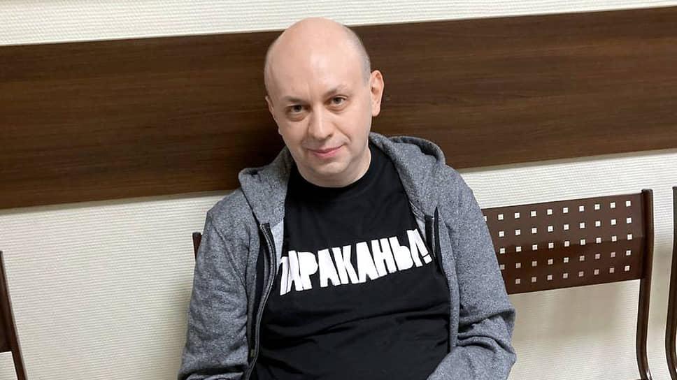 Главный редактор «Медиазоны» Сергей Смирнов
