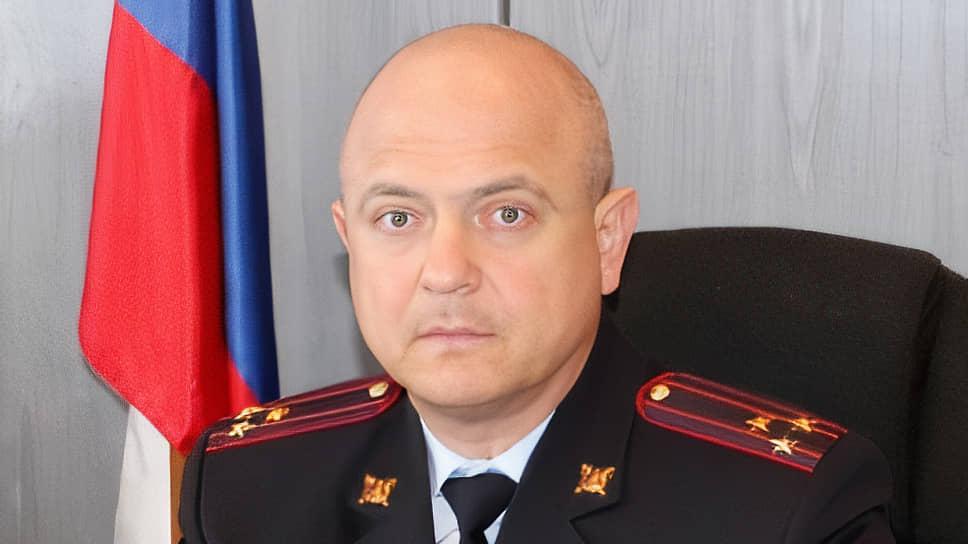 Полковник полиции Вячеслав Хомских