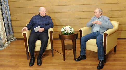 В Сочи завершилась встреча Путина и Лукашенко