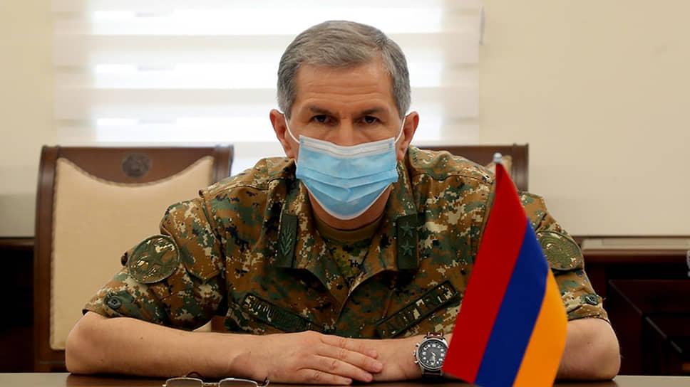 Начальник Генштаба вооруженных сил Армении Оник Гаспарян