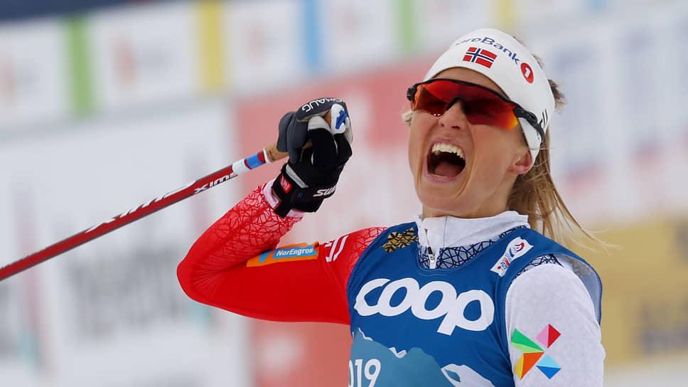 Лыжница Тереза Йохауг