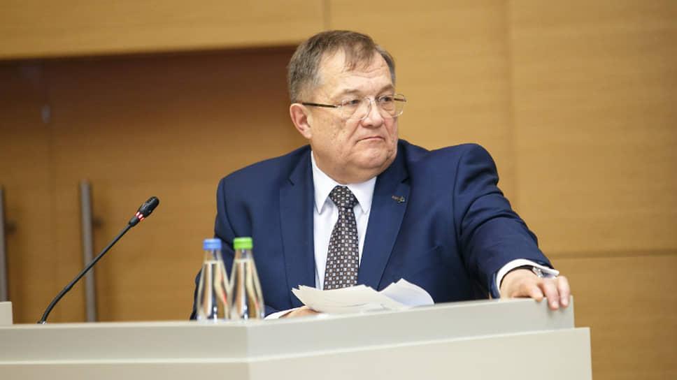 Бывший глава Приволжского управления Ростехнадзора Борис Петров