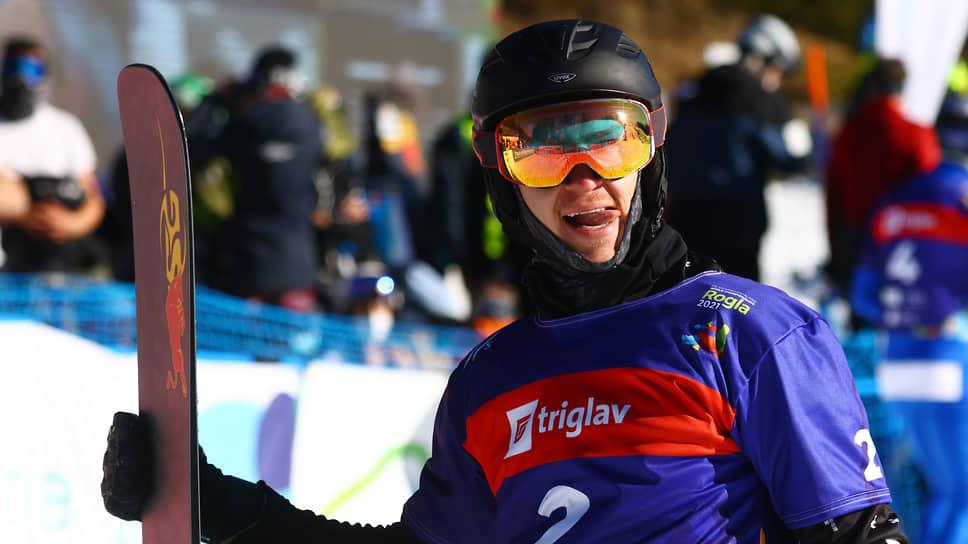 Сноубордист Дмитрий Логинов