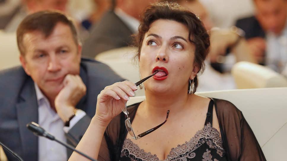 Министр культуры Крыма Вера (Арина) Новосельская
