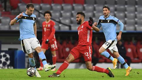 Бавария обыграла Лацио в 1/8 финала Лиги чемпионов