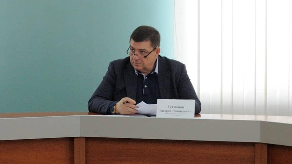 Глава Майкопа Андрей Гетманов