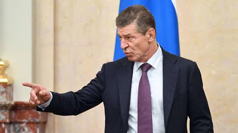 Козак считает действия Украины в Донбассе пиаром