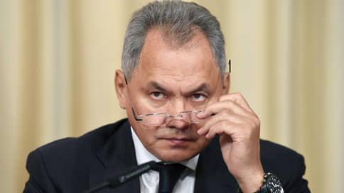 Шойгу рассказал об ответе на наращивание сил НАТО у границ России
