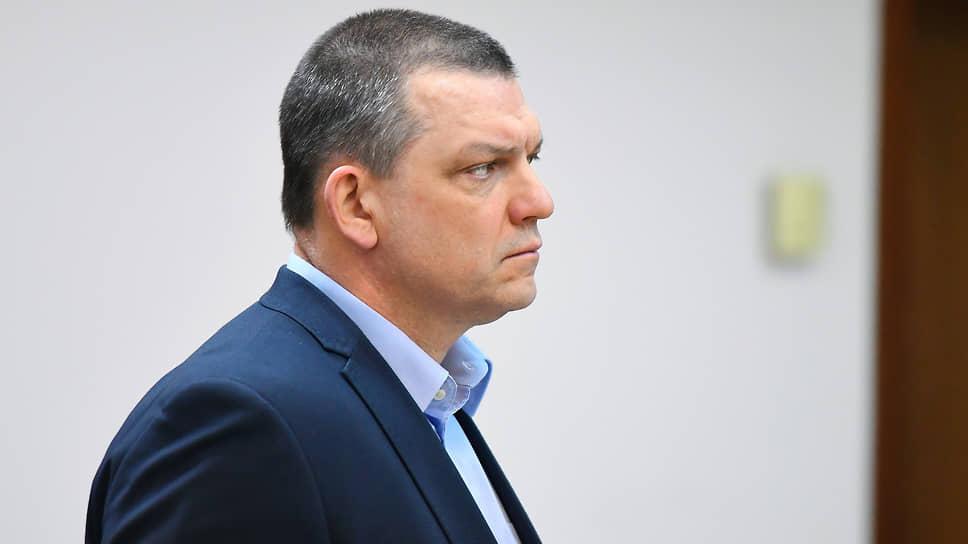 Илья Аверьянов на заседании Мосгорсуда в феврале 2020 года