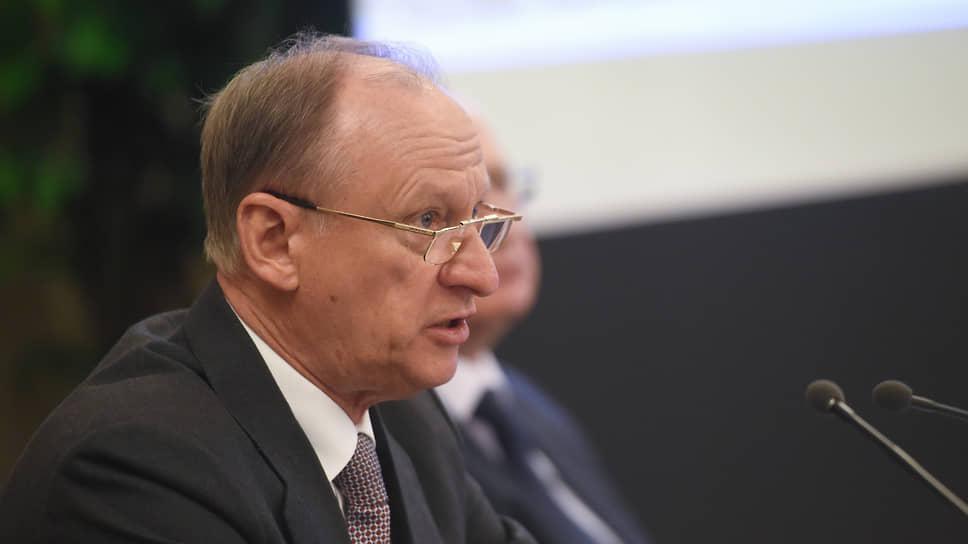 Cекретарь Совета безопасности России Николай Патрушев