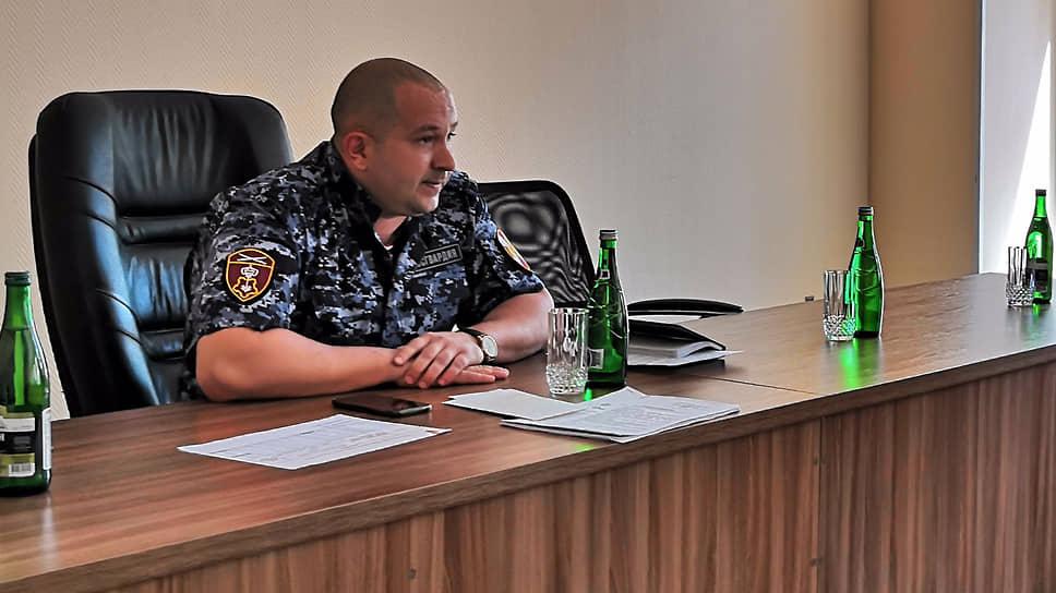 Начальник отдела вневедомственной охраны войск Росгвардии Денис Назаров