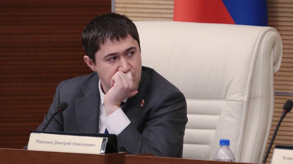 Губернатор Пермского края Дмитрий Махони