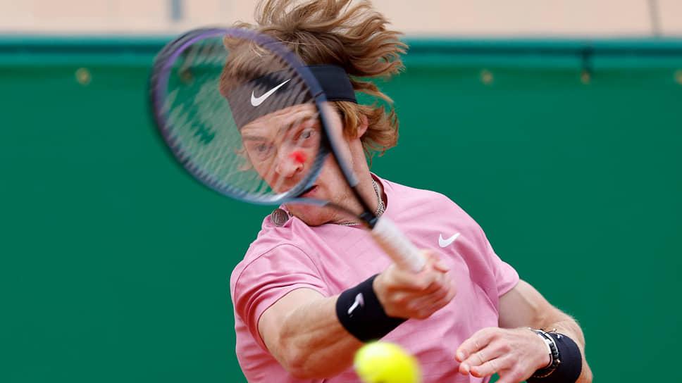 Российский теннисист Андрей Рублев