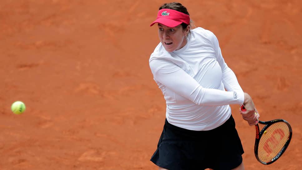 Российская теннисиста Анастасия Павлюченкова