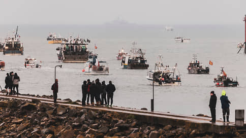 Французские рыбаки сняли блокаду с британского острова Джерси