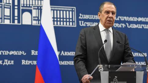 Лавров заявил о «мании безнаказанности» у Евросоюза