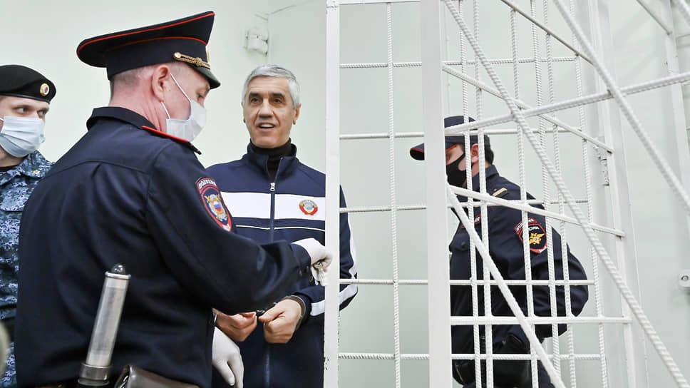 Подсудимый Анатолий Быков на заседании в апреле 2021 года