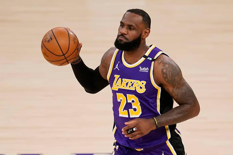 5-е место. Баскетболист «Лос-Анджелес Лейкерс» Леброн Джеймс — $96,5 млн