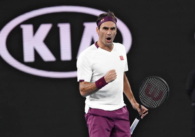 7-е место. Теннисист Роджер Федерер — $90 млн