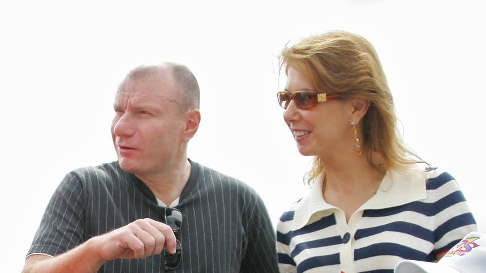 Владимир и Наталья Потанины в 2006 году