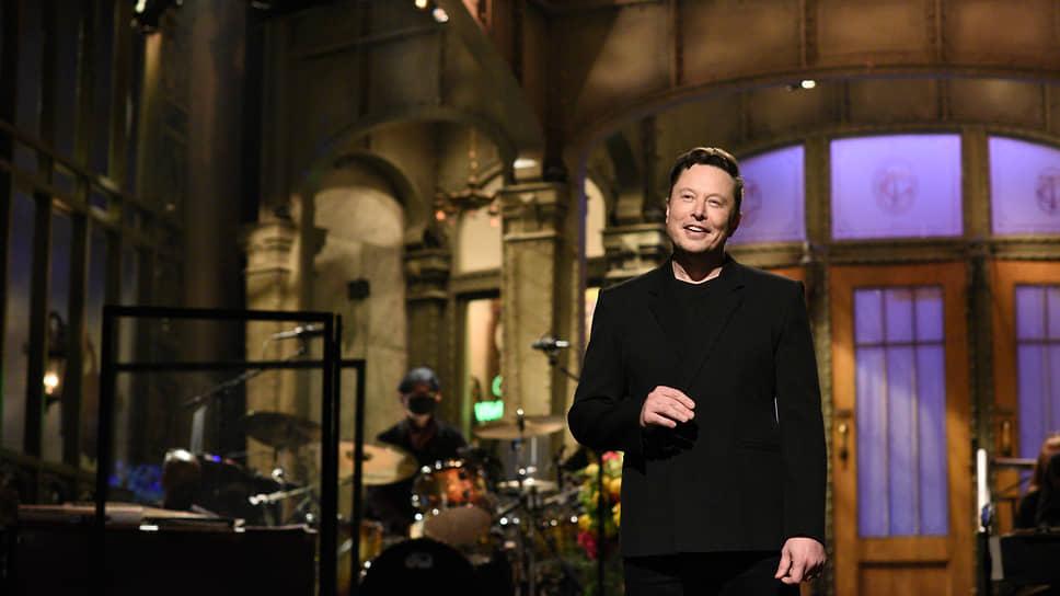 Илон Маск на шоу Saturday Night Live