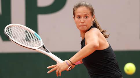 Касаткина проиграла в третьем круге Roland Garros