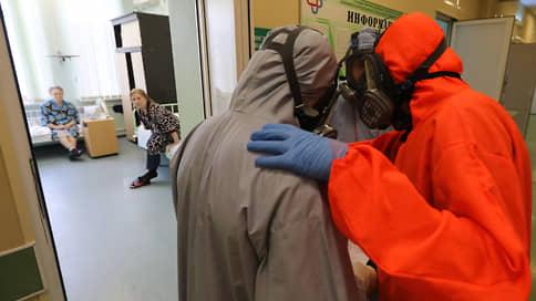 В России впервые с 6 марта выявили более 11 тысяч заразившихся COVID-19 // В Москве  максимум с января
