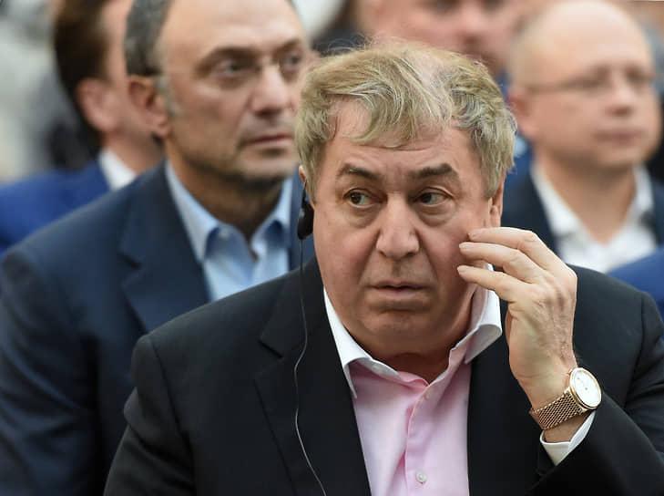 Михаил Гуцериев в 2018 году