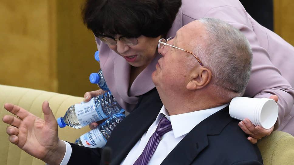 Наталья Боева и Владимир Синяговский
