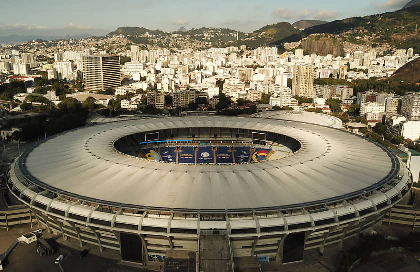 Встреча прошла на стадионе «Маракана» в Рио-де-Жанейро