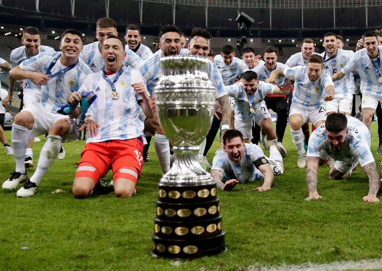 Аргентина выиграла Кубок Америки в 15-й раз