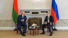 Путин и Лукашенко договорились сохранить цену на газ для Белоруссии