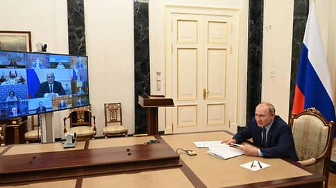 Путин ожидает роста экономики в 2021 году на уровне около 4%