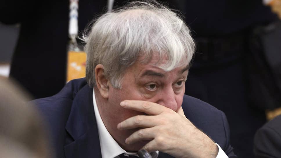 Михаил Гуцериев в 2017 году