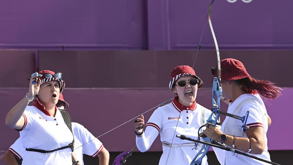 Женская сборная России по стрельбе из лука