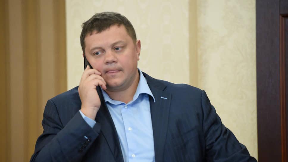 Евгений Кабанов в 2018 году