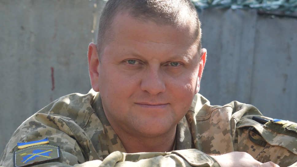 Главнокомандующий вооруженными силами Украины Валерий Залужный