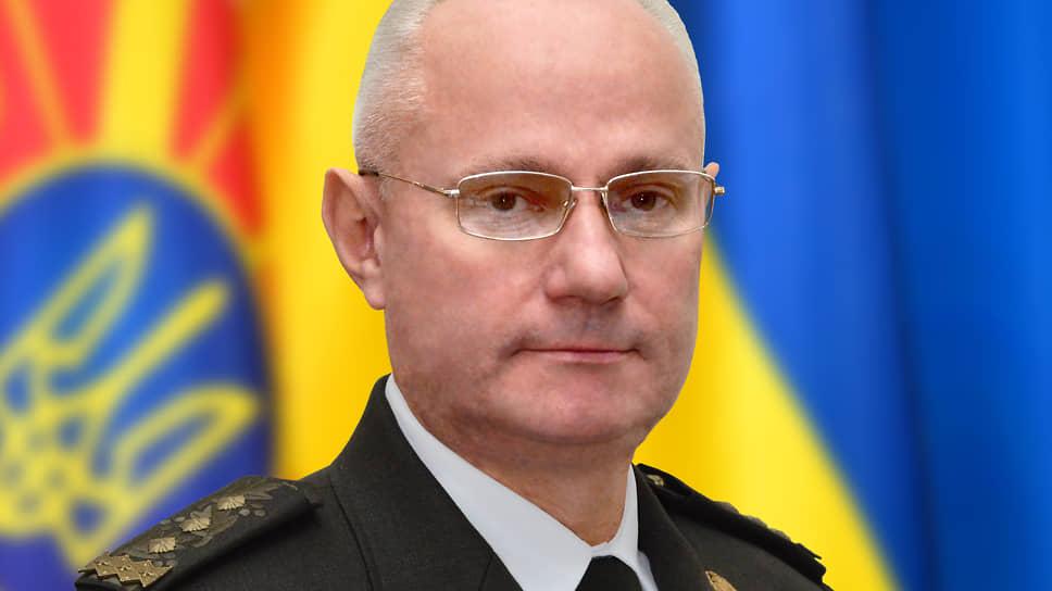 Бывший главнокомандующий вооруженных сил Украины Руслан Хомчак