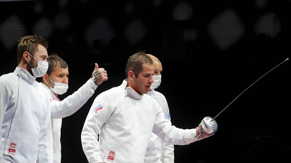 Российские шпажисты проиграли японцам в финале Олимпиады /